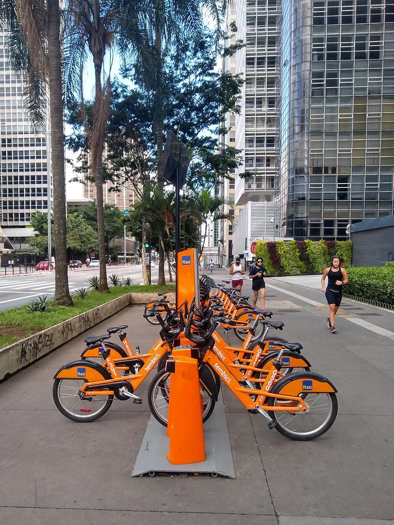 Bike-sharing station