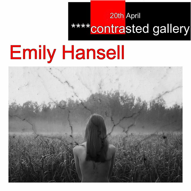 Coming soon to ****contrasted gallery: Emily Hansell Photography