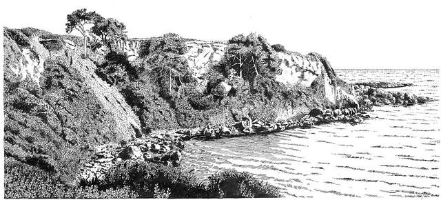 Kap an der Jonian See