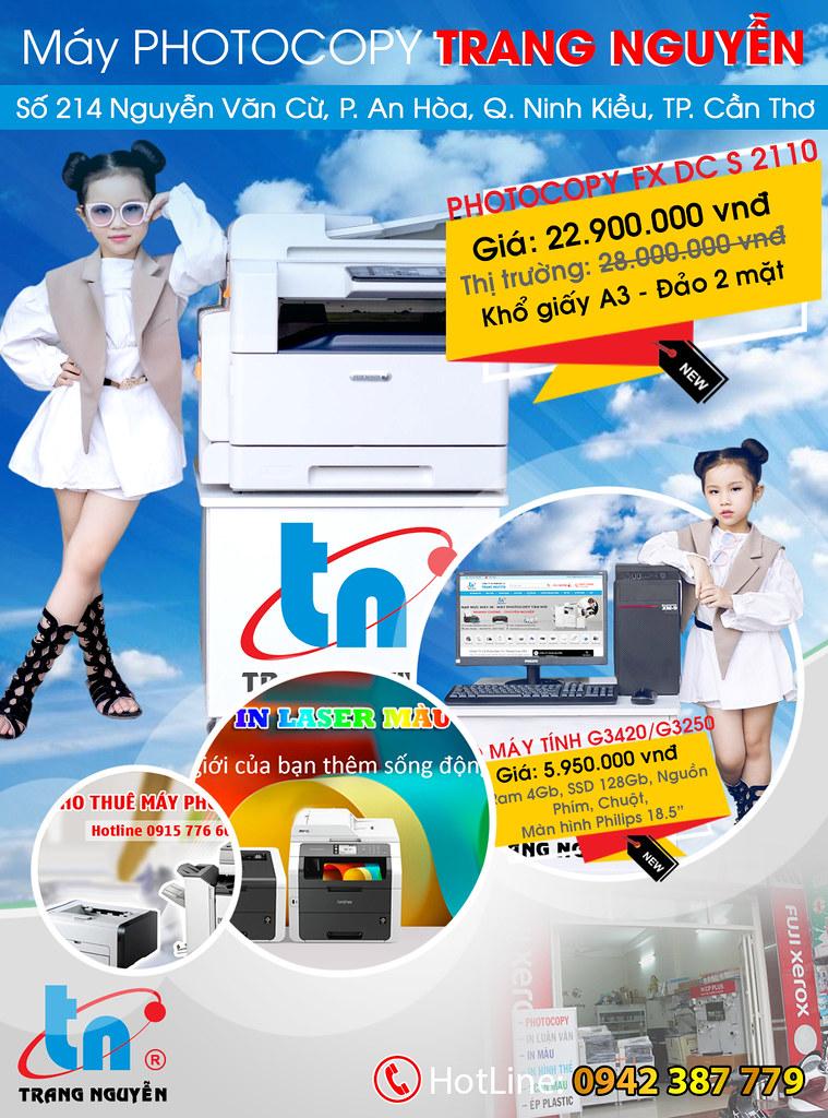 Cho thuê máy Photocopy TP Cần Thơ 0915 32 6788