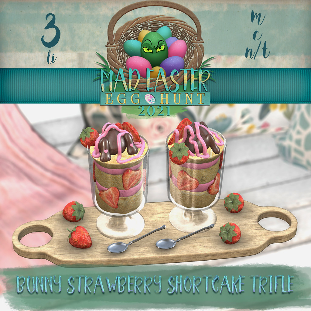 Easter Hunt Prize Reveal: Bunny Shortcake Strawberry Trifle