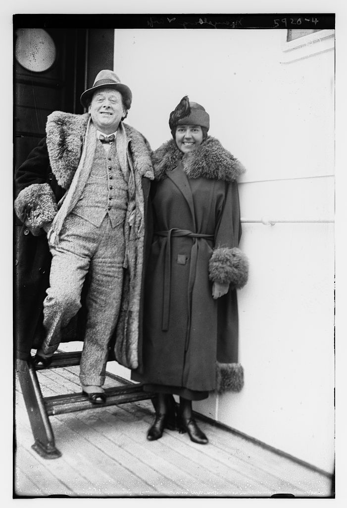 Mengelberg and wife (LOC)