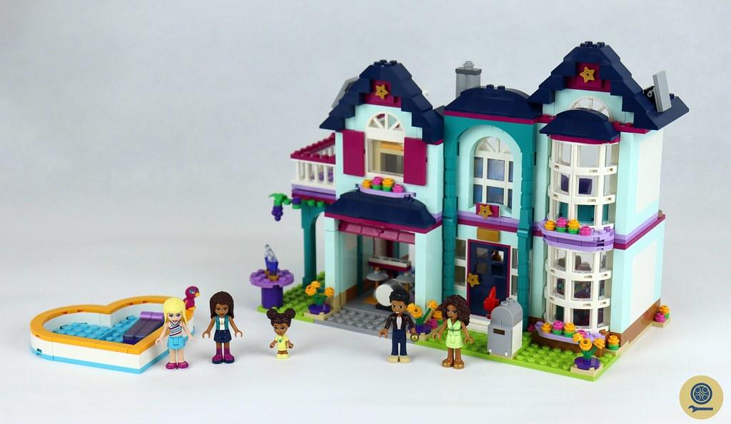 41449 LEGO Andrea's Family House 1