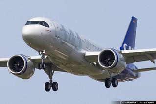 SAS Scandinavian Airlines Airbus A320-251N cn 10265 D-AVVT // SE-RUF