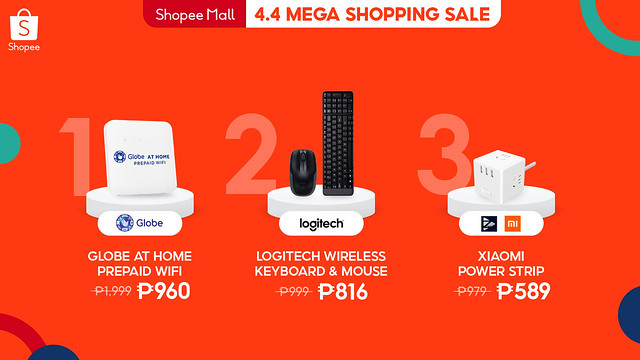4.4 Mega Shopping Sale Listicle - Electronics