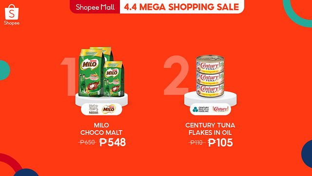 4.4 Mega Shopping Sale Listicle - Food