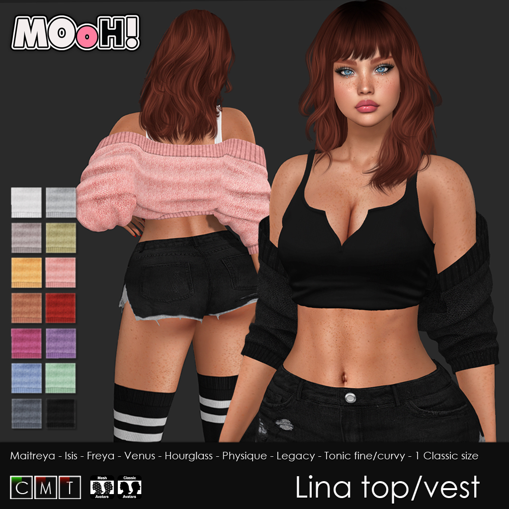 Lina top and vest