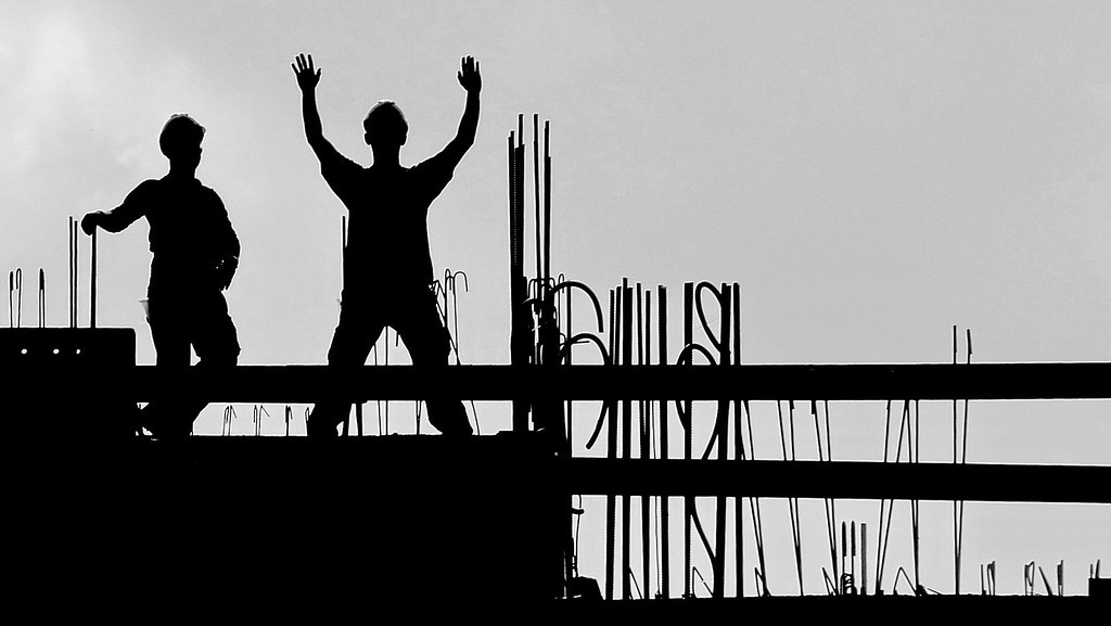 men on construction