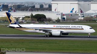 Singapore Airlines A350-941 msn 475 9V-SHV