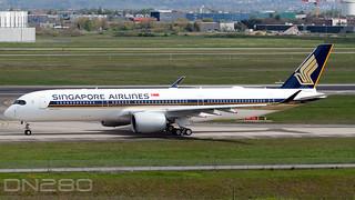 Singapore Airlines A350-941 msn 464 9V-SHT