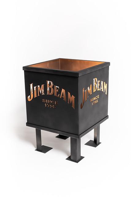 Pack Shot Vuurkorf Jim Beam