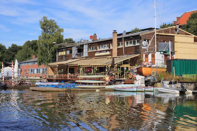 Hamburg - Alster Canal Trip