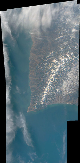 Hidaka Mountains and Cape Erimo