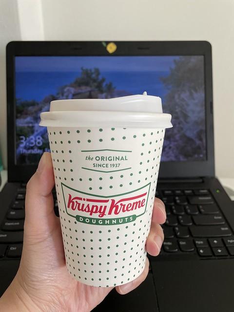 Coffee Cup Krispy Kreme
