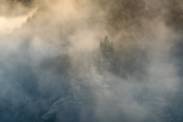 *the castle in the fog*