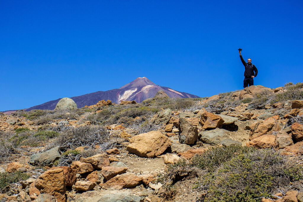Sendero Alto de Guajara en Tenerife
