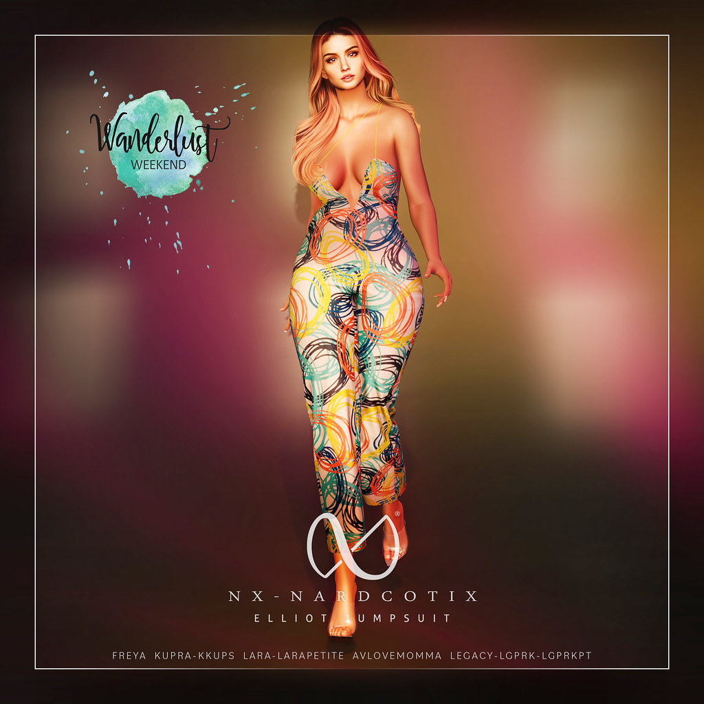 NX-Nardcotix Elliot Jumpsuit PR Easter for Wanderlust Weekend