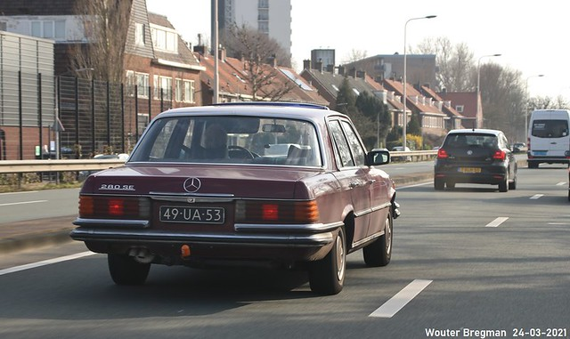 Mercedes 280 SE 1974