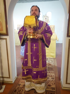 28.03.2021 | Божественная литургия в посёлке Тёсово-Нетыльский