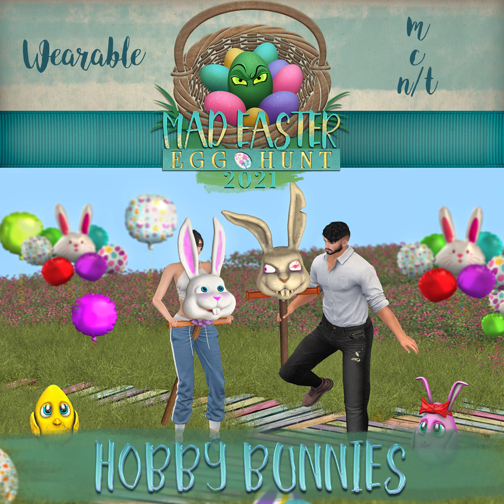 Easter Hunt Prize Reveal: Hobby Bunnies