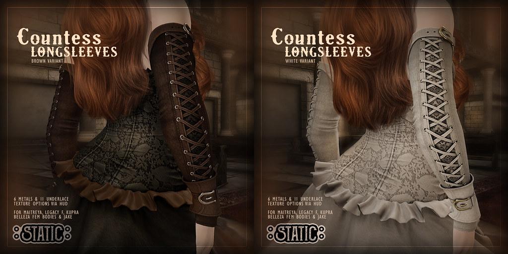 Countess Longsleeves - New Colors~