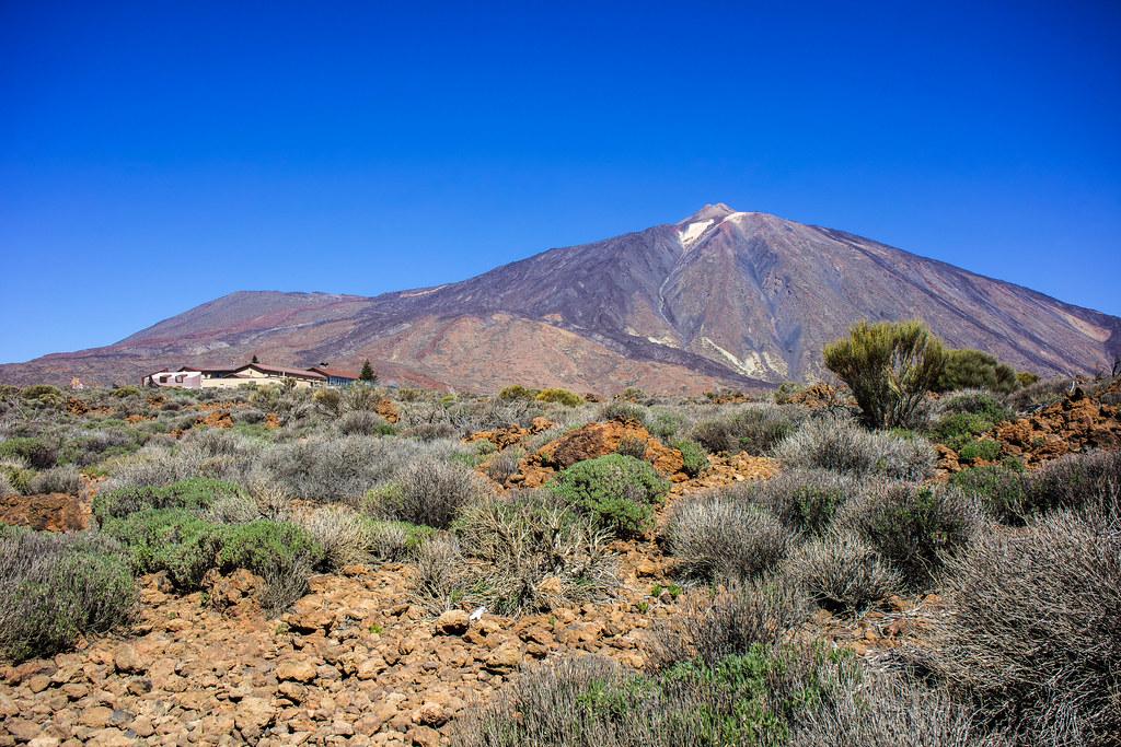 Teide y Parador de Turismo
