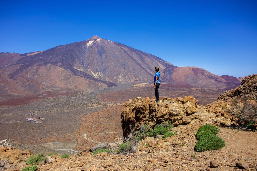 Sendero de ascenso a montaña Guajara
