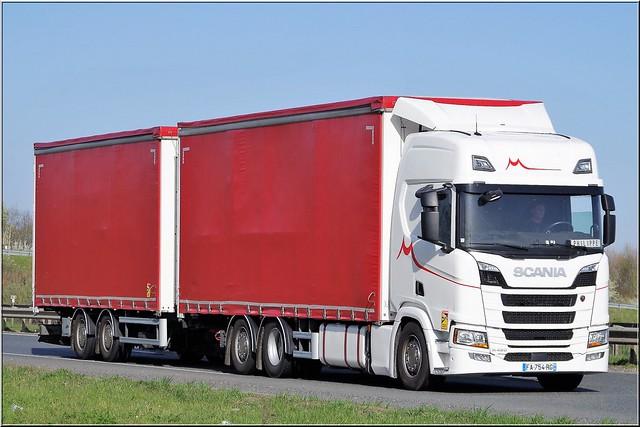 Scania_R 450, Transports Morisson SE, Montjean (F-16)