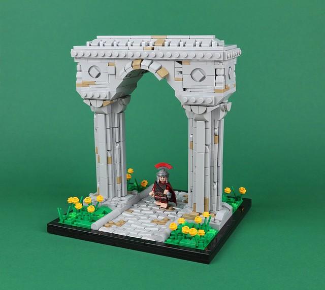Romans need a walk too