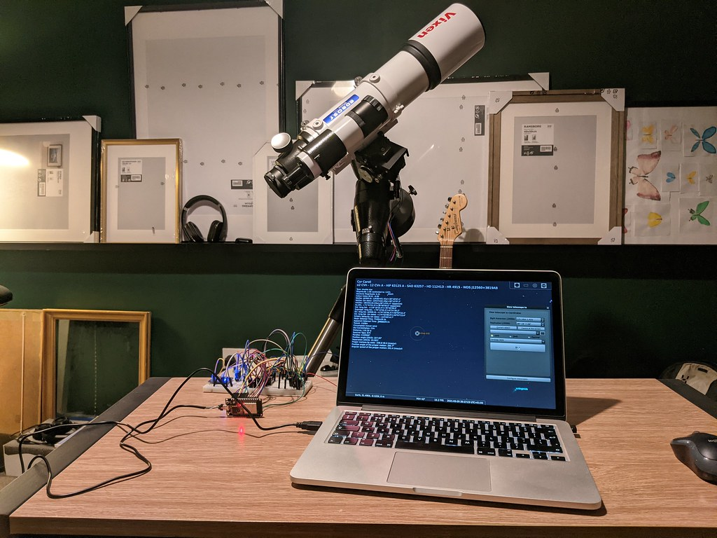Testing OnStep and Stellarium