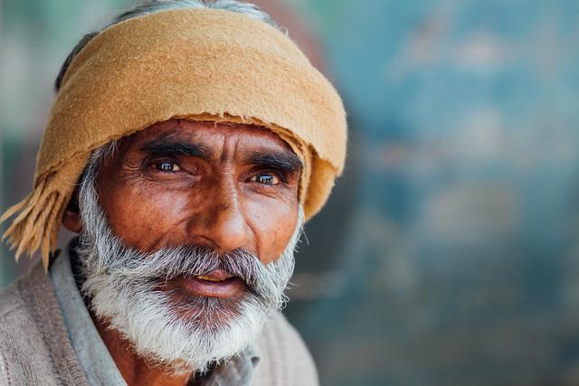 Pakistani Man Portrait, Lahore