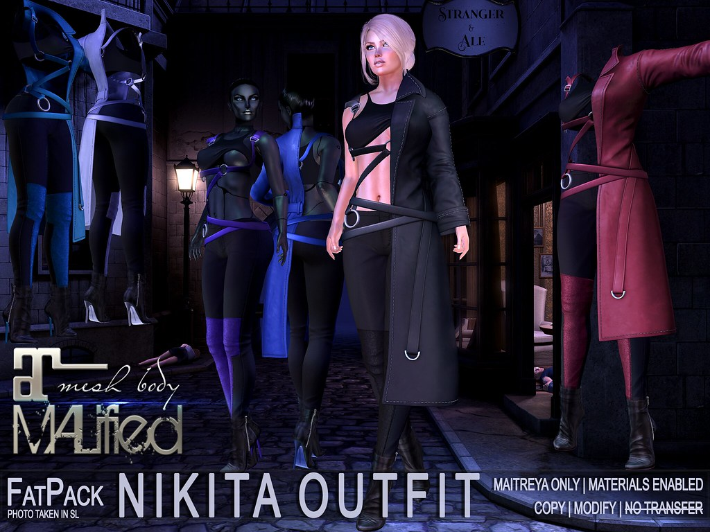 MALified – Nikita Outfits – FatPack