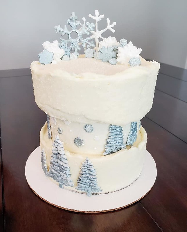 Cake by Sugar Rush Bakery