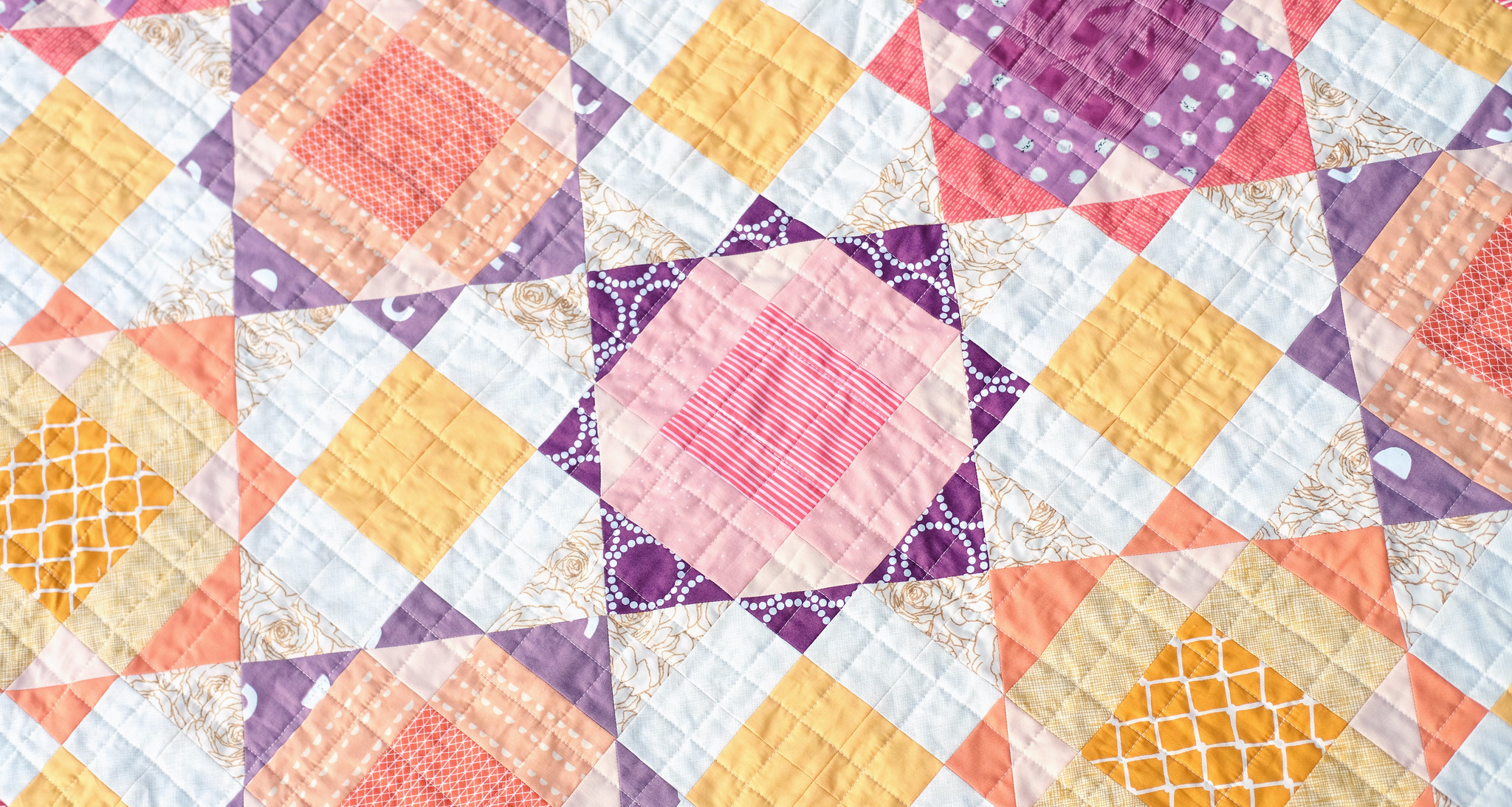 The Naomi Quilt (Baby Size) - Kitchen Table Quilting