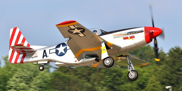 North American TF-51D Mustang Mad Max NL51MX 511559