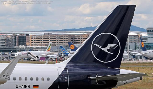 D-AINR EDDF 03-07-2020 (Germany) Lufthansa Airbus A320-271N CN 8725