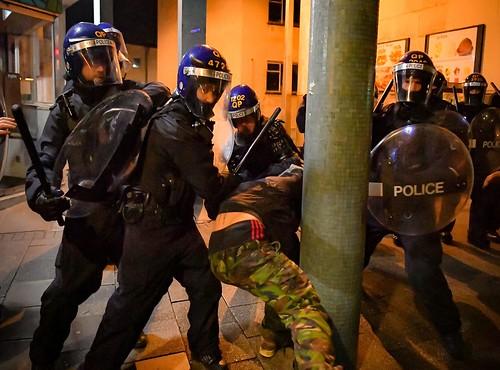 Riot policing