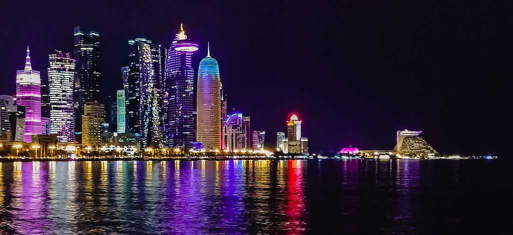 Doha night