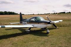 G-ERRY American Aviation AA-5B [0725] Popham 270714