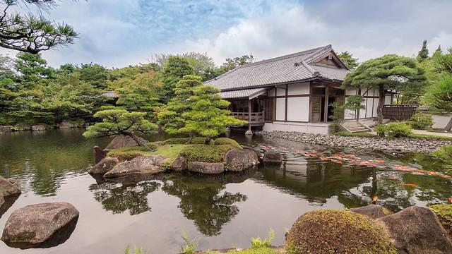 Jardin KÔKO-EN et Koï carp ..Garden Himeji Japon 2017