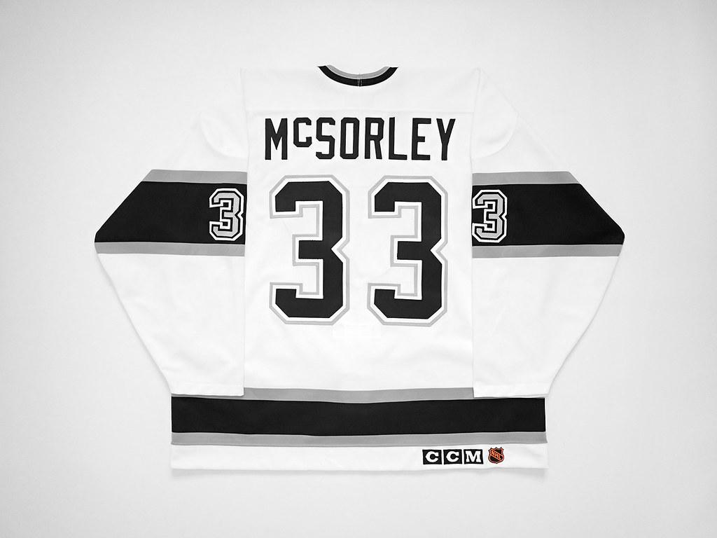 1993-94 Los Angeles Kings Marty McSorley