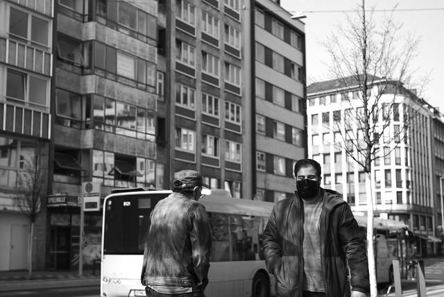 on street 3 @ Düsseldorf Germany