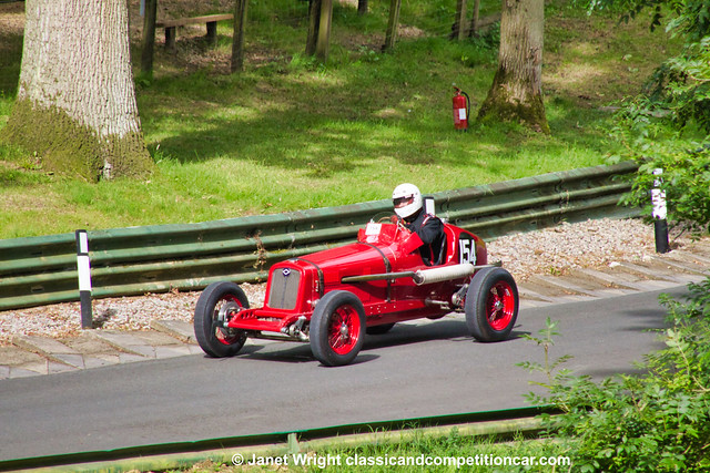 1924:36 Riley Special racing car Hans Van Wortel