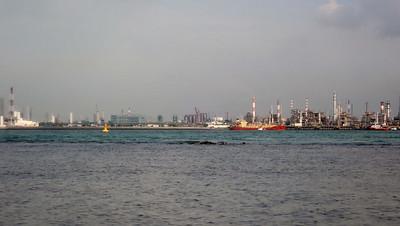 Massive reclamation on Jurong Island off Cyrene Reef, Sep 2020
