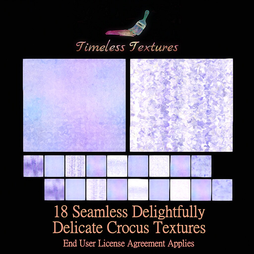 TT 18 Seamless Delightfully Delicate Crocus Timeless Textures