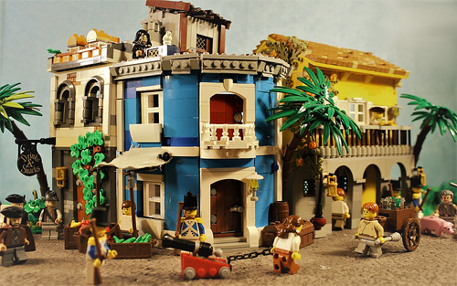 MOC Havana 1717 - for Being Pirates Stop-Motion