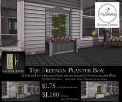 Freeman Planter Box by Galland Homes