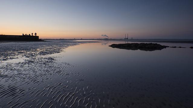 Good Friday Silhouette Dublin Bay