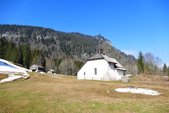 04.03.21.Chapelle St Bruno - Lac de Vallon (France)