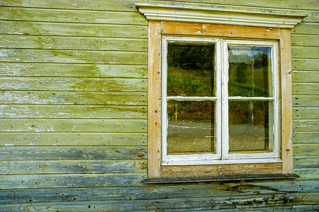 Weathered window